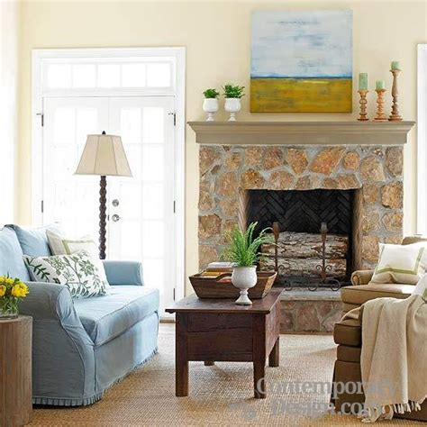 Designing Around A Fireplace by Decorating Around A Fireplace