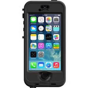 Lifeproof apple iphone 5 5s case nuud series black