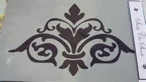 french style damask stencils for furniture shabby chic stencils a4 autentico