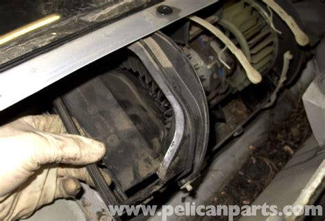 bmw blower motor resistor replacement bmw z3 blower motor replacement 1996 2002 pelican parts diy maintenance article
