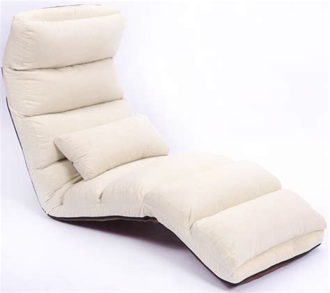 bed lounge chair new chaise lounge recliner chair sofa bed ivory