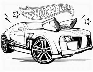 Hot Wheels Coloring Pages sketch template