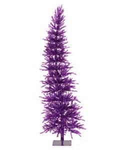 Purple dazzling a christmas tree treetopia