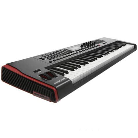 Usb Midi Keyboard Controllers novation impulse 61 key usb midi controller keyboard at gear4music