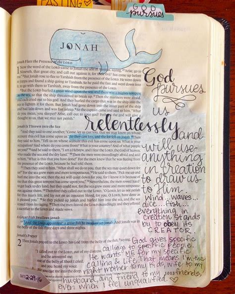 13 best bible journaling jonah images on