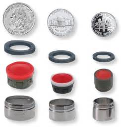 Faucet Size by The Faucet Aerator Guide Aerator Streams And Styles