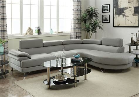 sectional sofa with round chaise living room curved sectional sofa couch round chaise grey