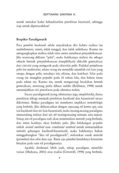Design The Business Plan Edisi Kedua menulis ilmiah metode penelitian kualitatif book by septiawan santana k scoop