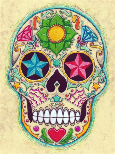 for sugar skull the 25 best ideas about skulls on sugar