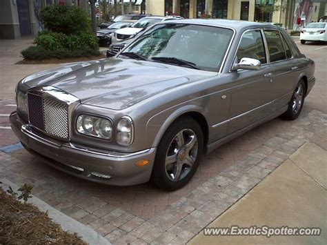 bentley arnage spotted in naples fl florida on 02 25