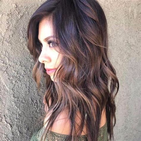 how to balayage med layered dark brown 80 balayage highlights ideas for every hair color hair