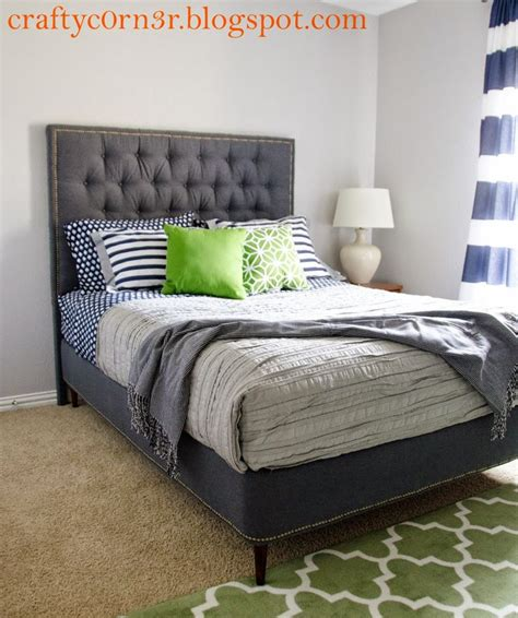 25 best ideas about upholstered bed frame on