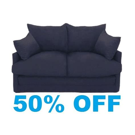 navy blue futon sofa bed pin blue sofa beds on pinterest