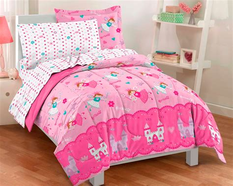 girl bedding twin pink magical princess fairy bedding for little girls twin