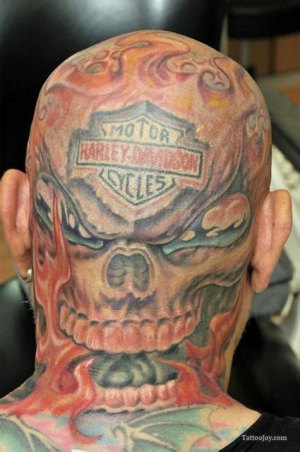 head tattoo pain 17 best images about harley davidson tatoo on