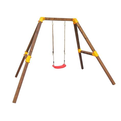 kids single swing wendi diana single swing set kids wooden playset buy
