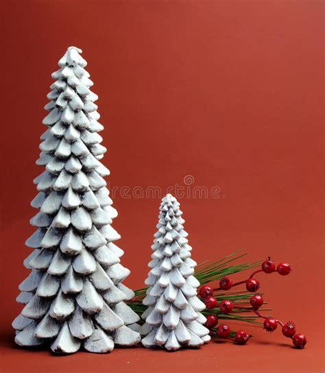 candele albero di natale candele dell albero di natale bianco con la natura morta