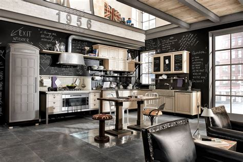 how to industrial style your home style etcetera vintage and industrial style kitchens by marchi group