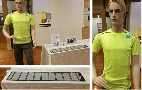 Clothes That Monitor Your Health by Taiwan Itri S Smart Washable Clothing Line Monitors