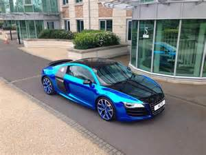 Chrome Blue Audi R8 Ac13 Premier On Quot Chrome Blue Audi R8 Http T Co