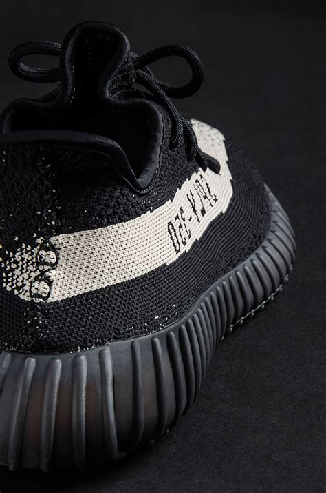 Adidas Yeezy Boost 350 V2 Black White Mirror Quality adidas yeezy boost 350 v2 black white sneakerfiles