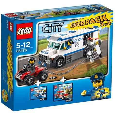 city rescue lego 66476 city sauvetage 1 en 3 superpack neuf ebay