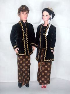 Boneka Pakaian Adat Jawa Barat colection harmoni boneka dengan