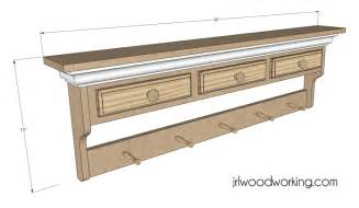 bench wood look woodworking plans wall shelf