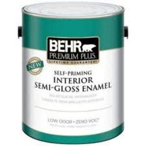 Behr Premium Plus Interior Semi Gloss Enamel by Behr Premium Plus Interior Semi Gloss Enamel 301201