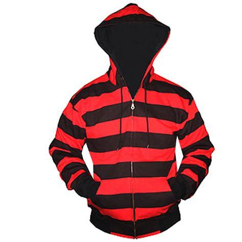 Striped Hoodie black and striped zip hoodie