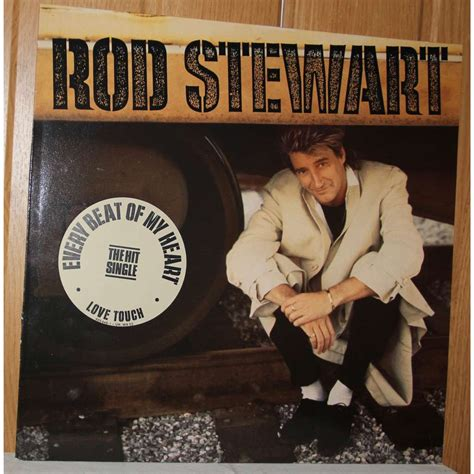 Rod Stewarts Beat It To Step by Every Beat Of My By Rod Stewart Lp With Dom93 Ref