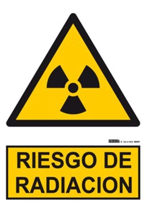imagenes de simbolos que representen peligro signo homologado de riesgo de radiaci 211 n referencia quot ad05 quot
