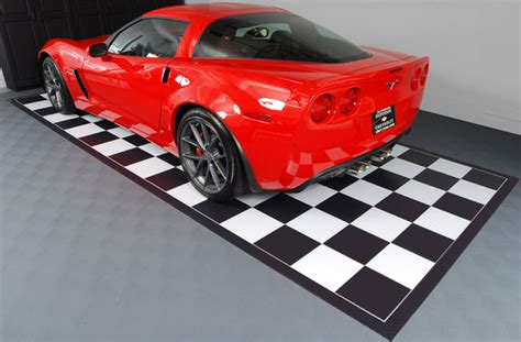 Garage Floor Parking Mat by Nitro Rolls Premium Grade Vinyl Garage Floor Rolls