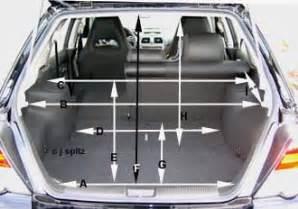 Subaru Impreza Cargo Space 2005 Ford Focus Wagon Cargo Space