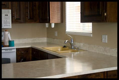 photos of painted laminate countertops