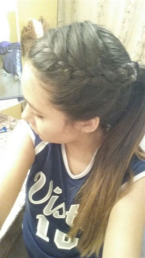 volleyball hairstyles braids volleyball hairstyles repins pinterest volleyball