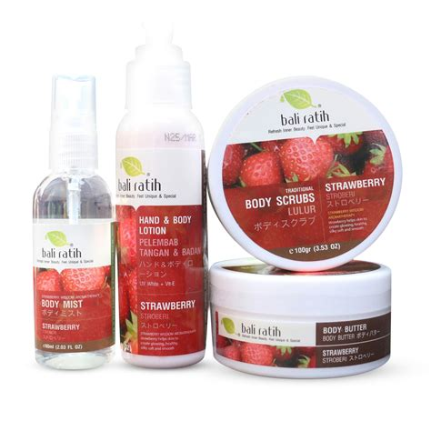 3in1 Scrub Butter Lotion Bali Ratih scrub lotion butter mist paket