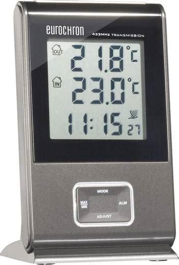 innen außen thermometer funk funk innen au 223 enthermometer efws 300 kaufen