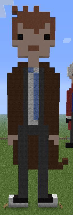10th doctor pixel art minecraft minecraft pixel art tenth doctor by aurora bloodshard on