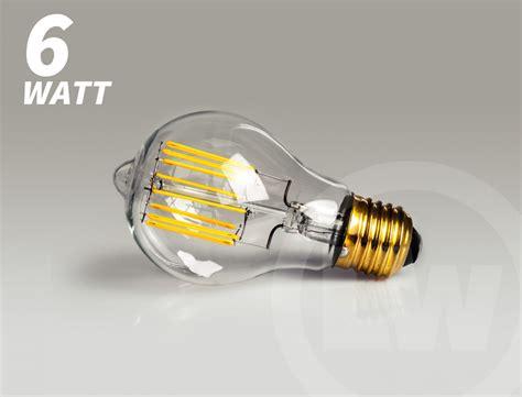 led birnen e27 segula led birne e27 6w filament ambiente