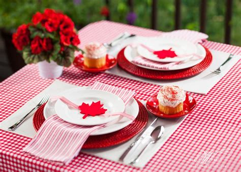 Day 6 Table Settings As by Canada Day Table Setting July Days