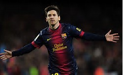 Lionel Messi Soccer Player