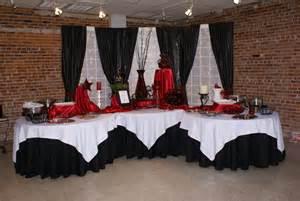 Red white amp black reception wedding blogs project wedding