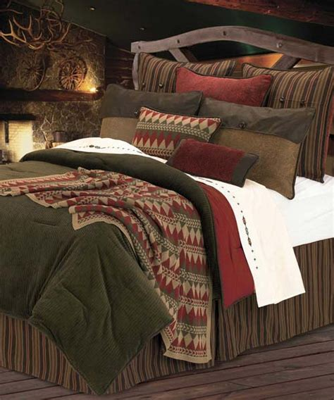 wilderness ridge comforter set rustic bedding sets lodge log cabin bedding
