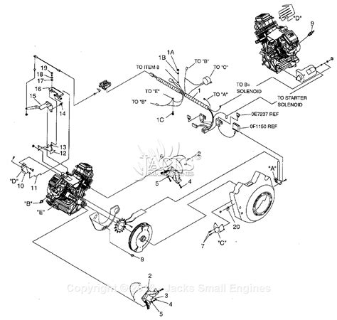generac parts diagram generac 005058 2 gtv760 parts diagram for governor electric