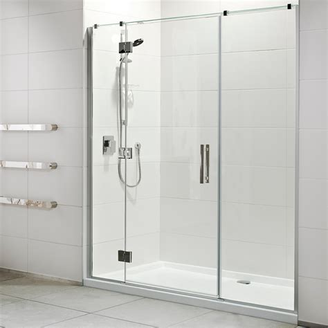 Shower Doors For Acrylic Showers Allora Acrylic Wall Shower Athena Bathrooms