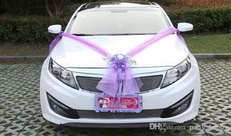 Wedding Car Decoration Kit by Wedding Car Flower Design Decoration Kit Wedding Car