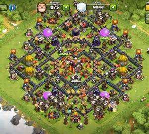 Best clash of clans town hall level 10 defense base design 2 jpg