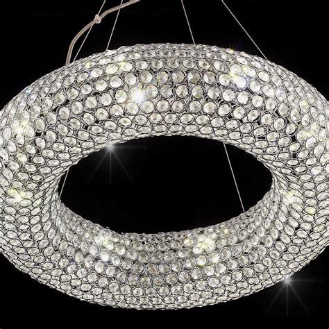 kronleuchter kristall led 6 8 5 d55cm led kristall h 228 ngeleuchte kronleuchter