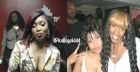 lil mo aka fabulous sister was pregnant and gave birth to meek mill sister reveals why she dissed nicki minaj and